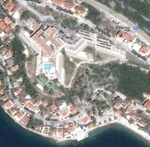 MSNetwork location - Grand Hotel Neum sat. view