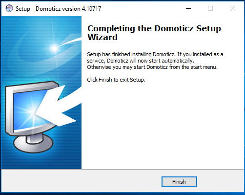 Domoticz  on Windows