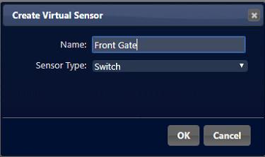 Wireless magnetic switch - Virtual representation